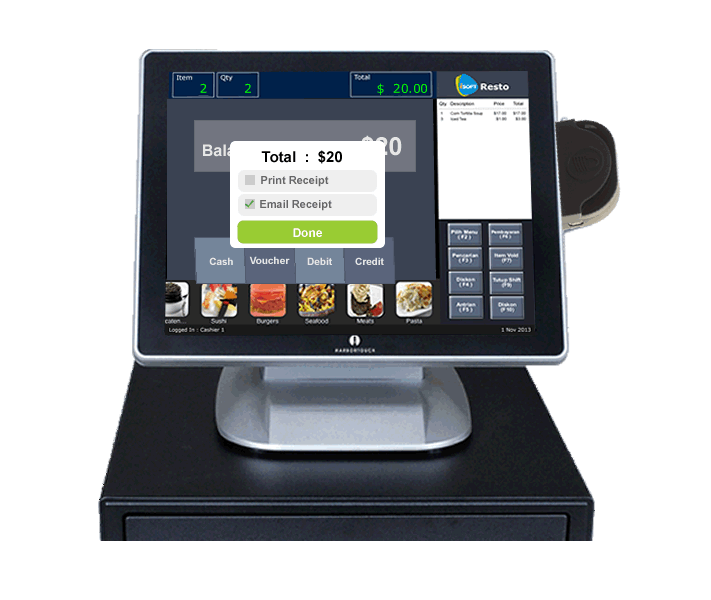 Isoft Pos Register Complete The Transaction